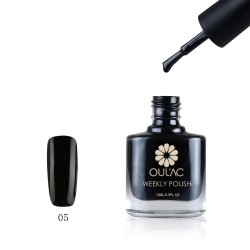 WEEKLY POLISH BLACK 15 ML