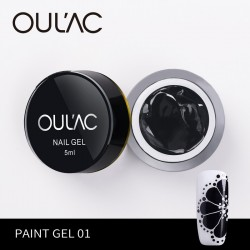 PAINT GEL 01 BLACK COLOR