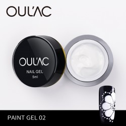 PAINT GEL 02 WHITE COLOR