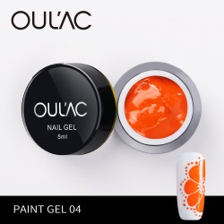 PAINT GEL 04 ORANGE COLOR