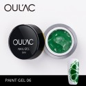 PAINT GEL 06 GREEN COLOR