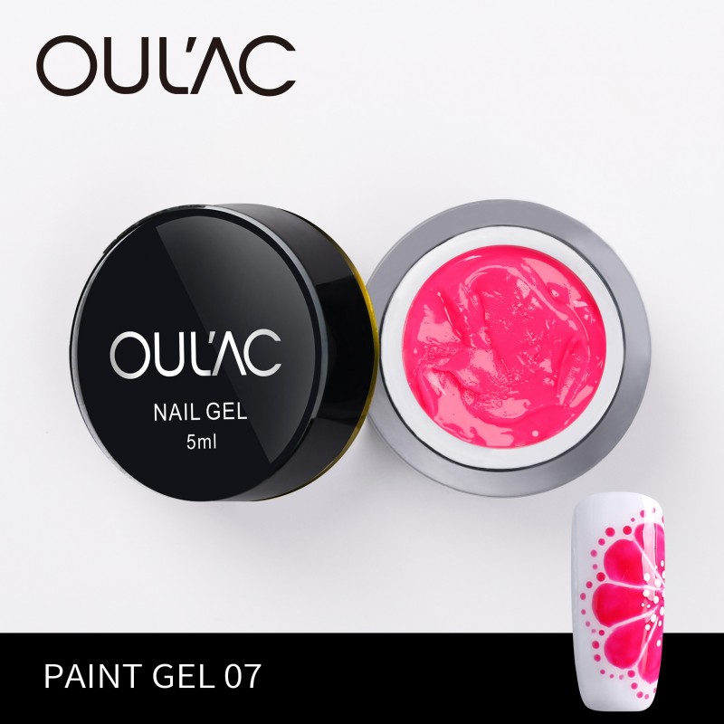 PAINT GEL 07 PINK COLOR