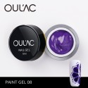 PAINT GEL 08 PURPLE COLOR