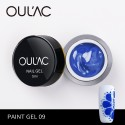 PAINT GEL 09 BLUE COLOR