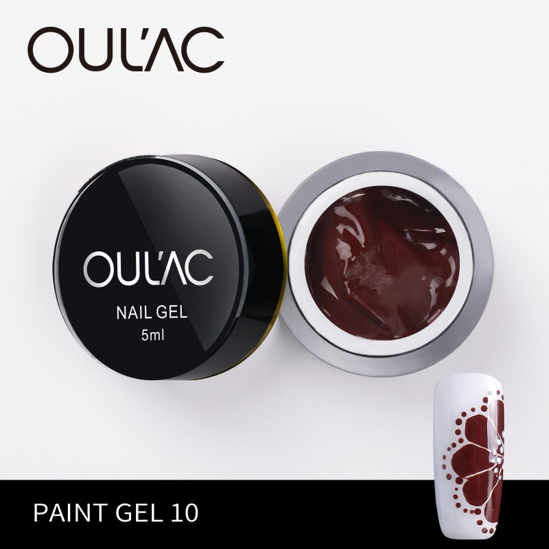 PAINT GEL 10 BROWN COLOR