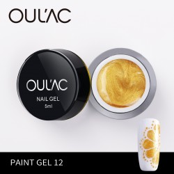 PAINT GEL 12 KOLOR ZŁOTY