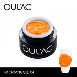 PLASTICINE 4D 04 ORANGE COLOR