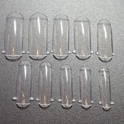 DUAL NAIL FORMS - GUM GEL 100 pcs.